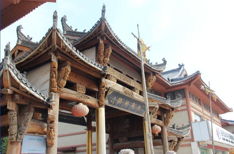 2015秋季,石台县-贵池区自驾体验.